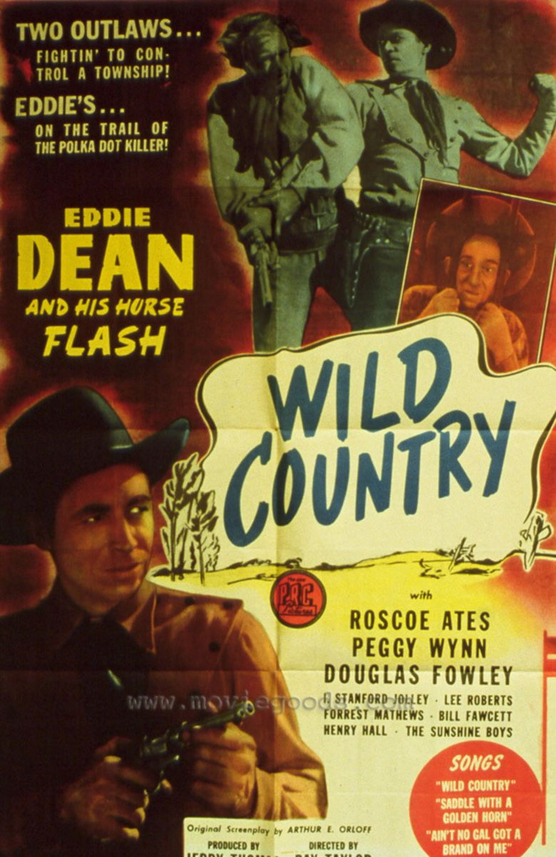 Wild Country (1947 film) movie poster