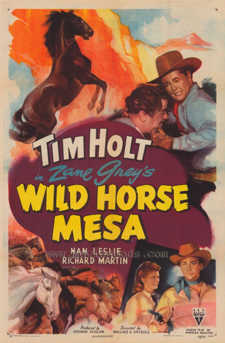 Wild Horse Mesa (1947 film) movie poster