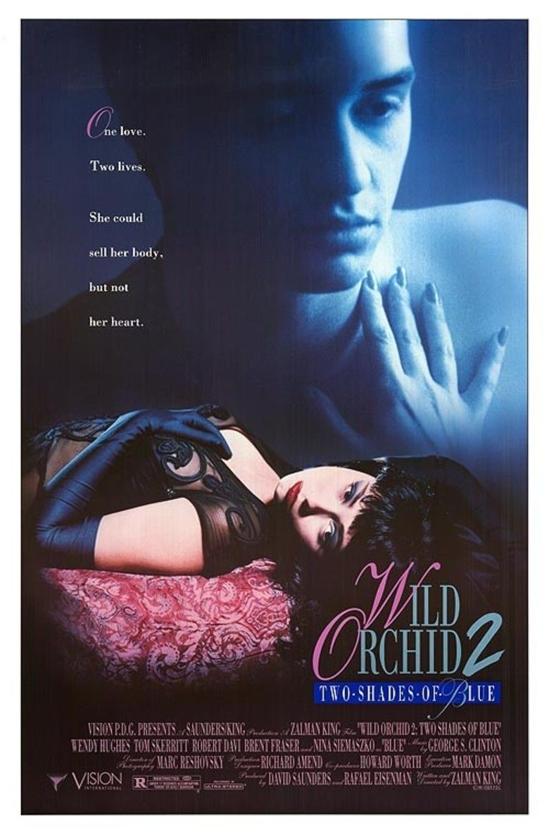 Wild Orchid II: Two Shades of Blue movie poster