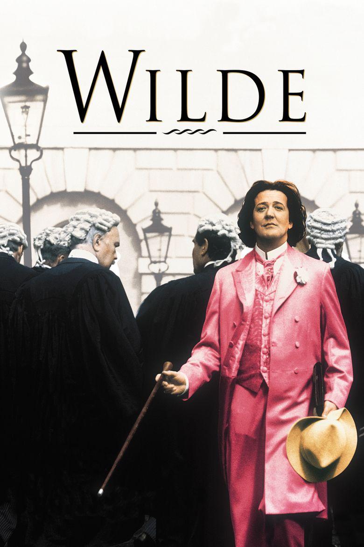 Wilde (film) movie poster