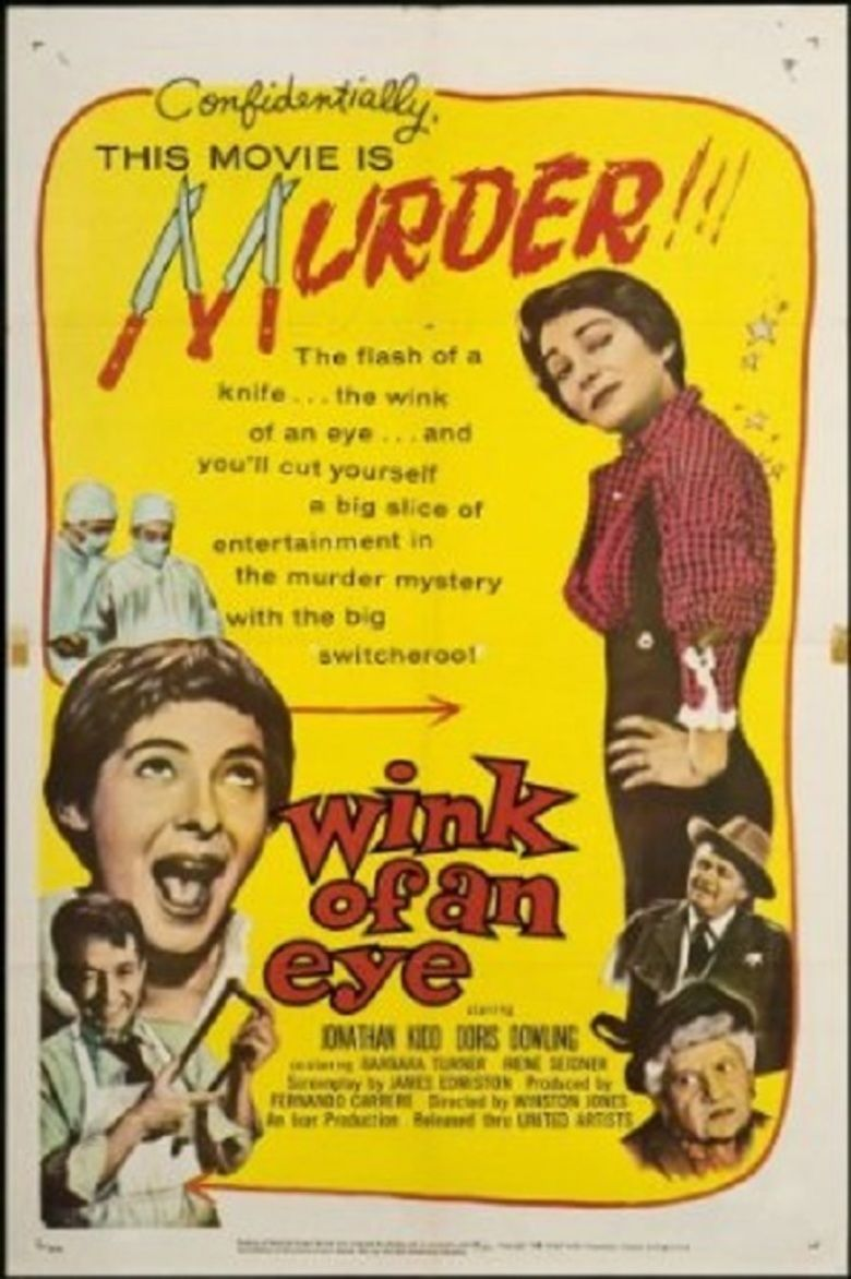 Wink of an Eye (film) movie poster