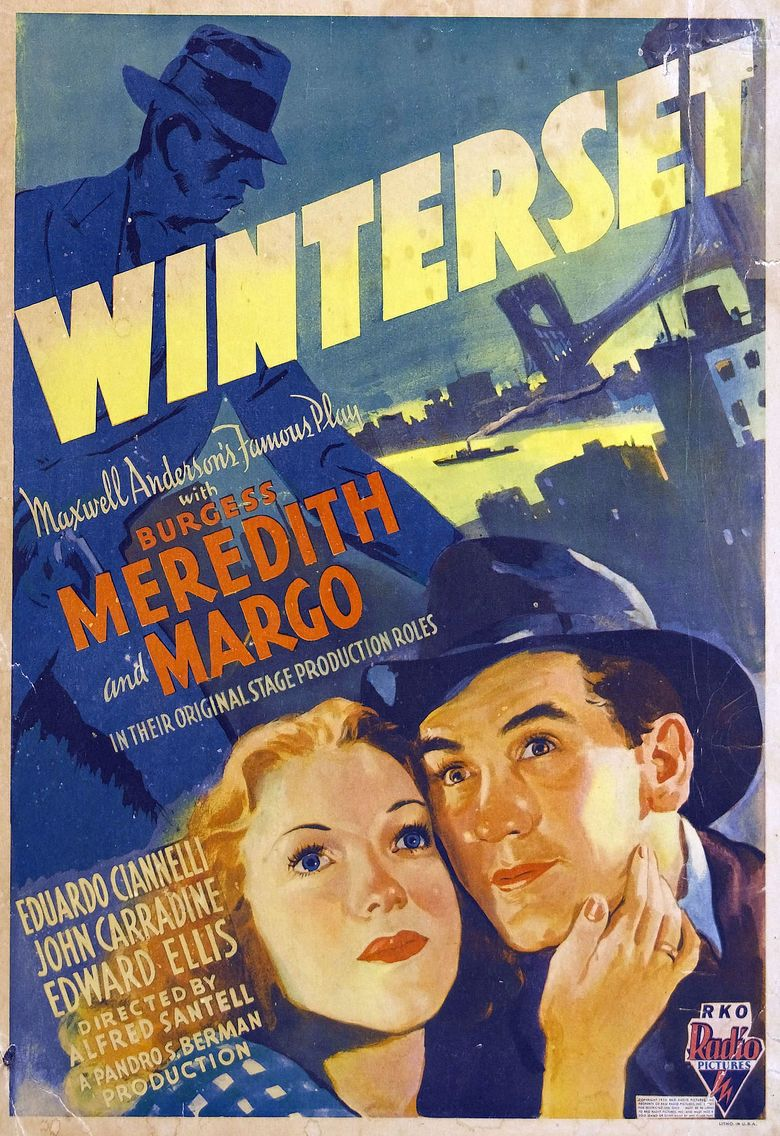 Winterset (film) movie poster