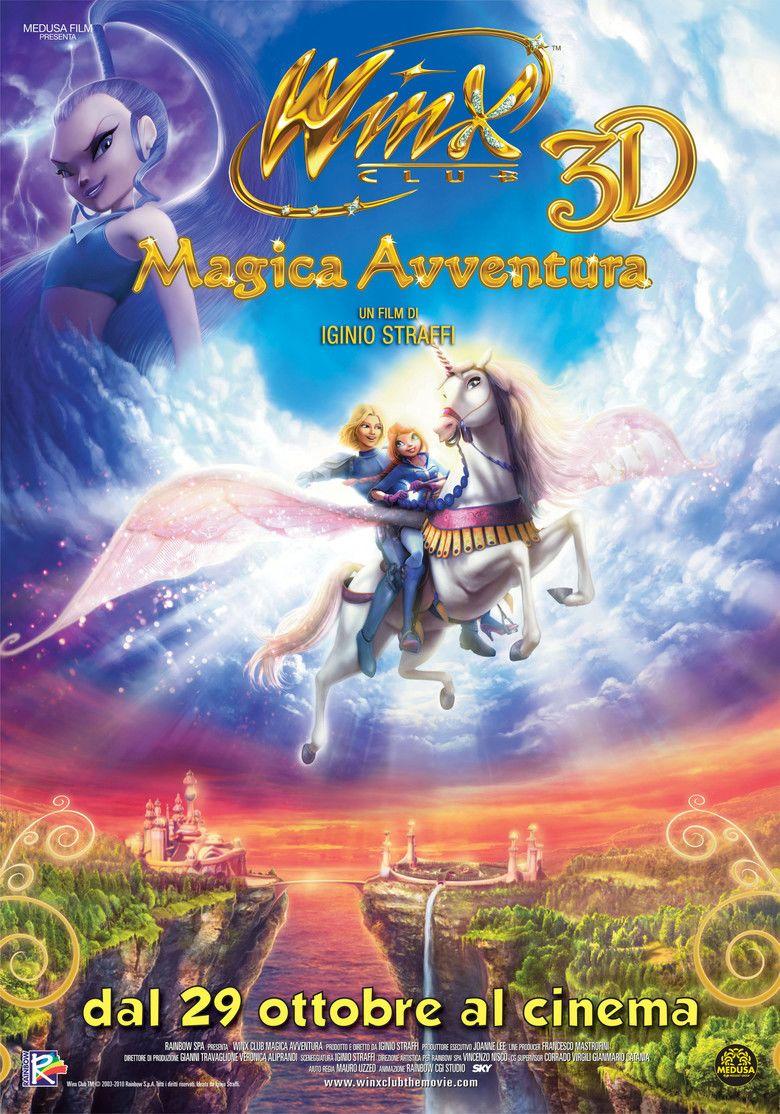 Winx Club 3D: Magical Adventure movie poster