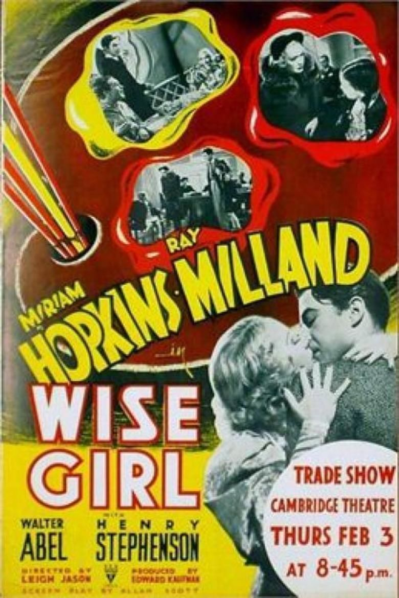 Wise Girl (film) movie poster