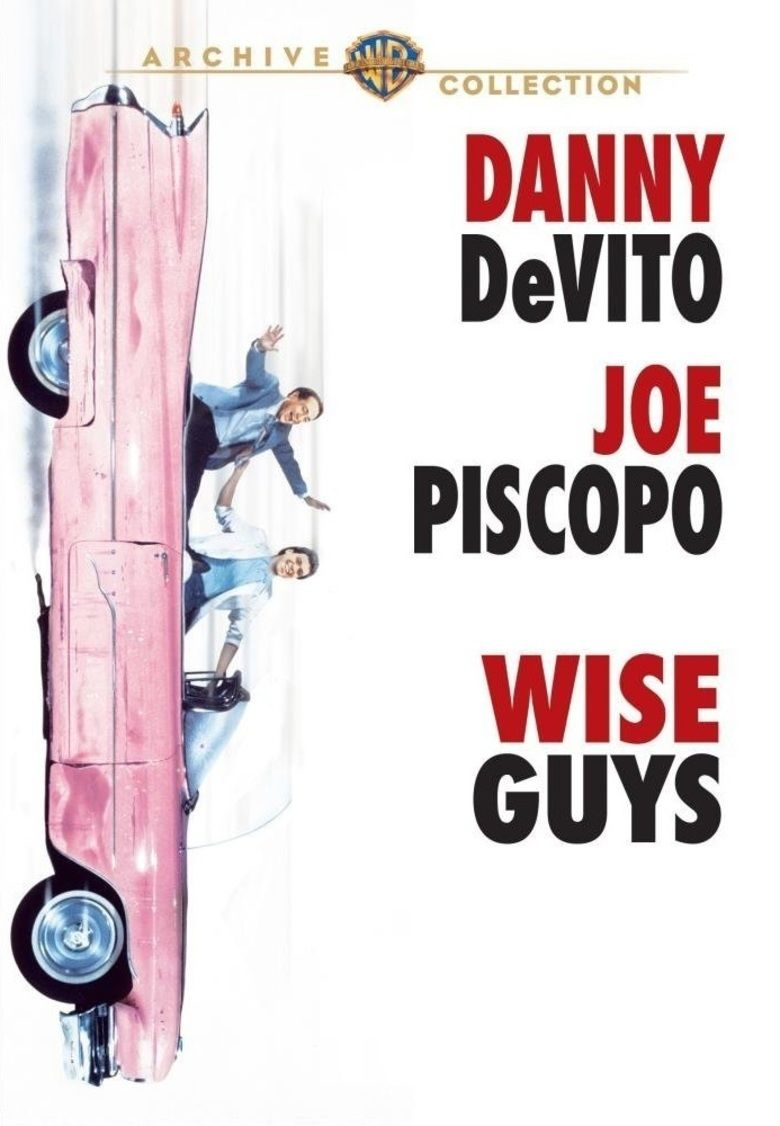 Wise Guys (1986 film) movie poster