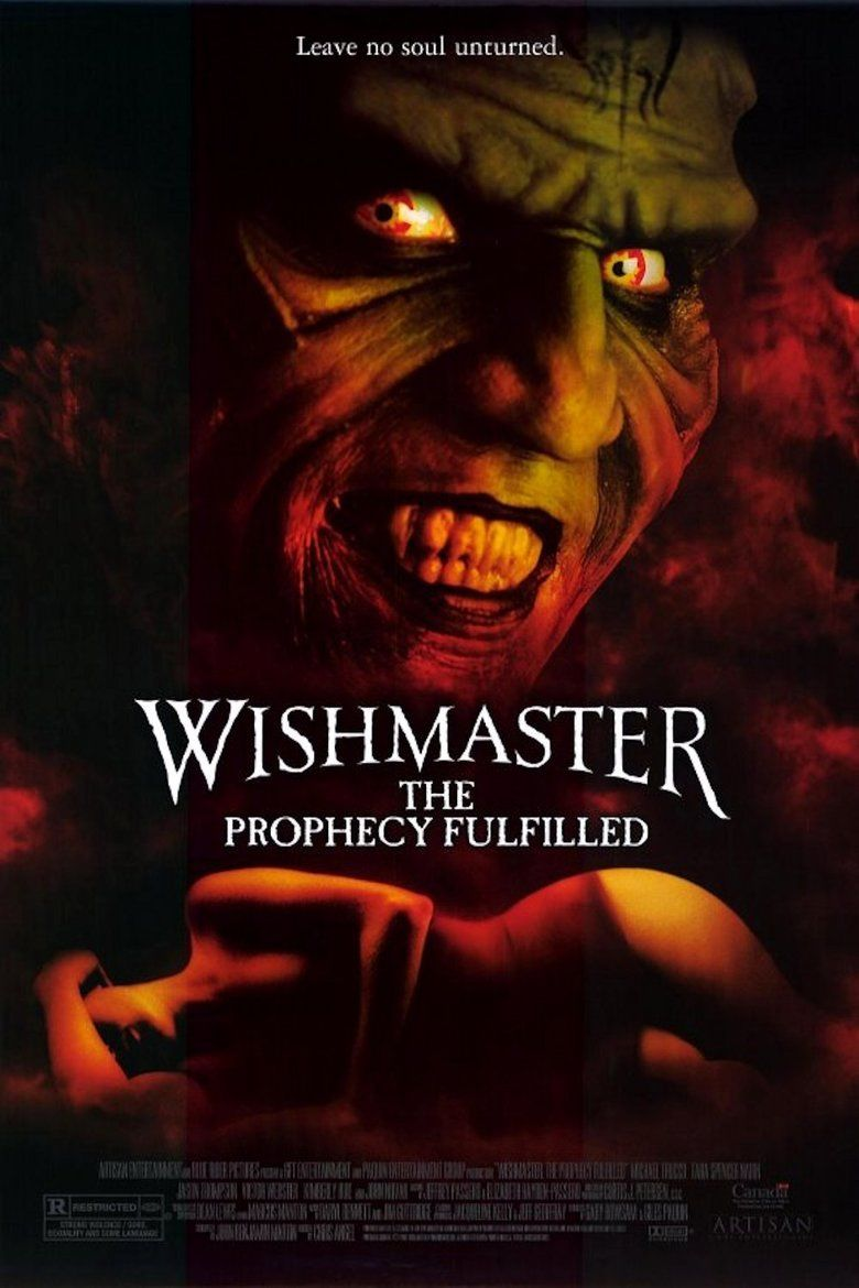 Wishmaster 4: The Prophecy Fulfilled movie poster