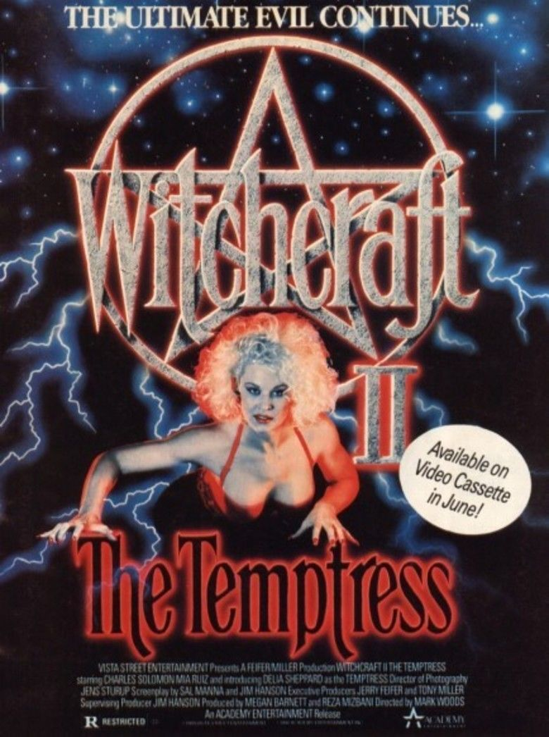 Witchcraft II: The Temptress movie poster