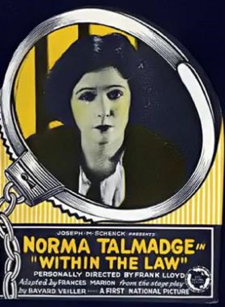 Within the Law (1923 film) movie poster