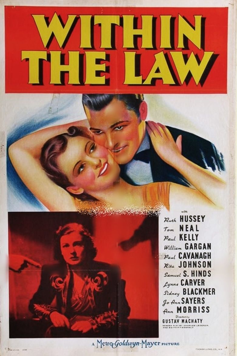 Within the Law (1939 film) movie poster