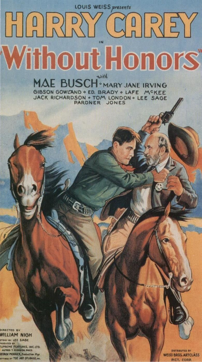 Without Honor (1932 film) movie poster