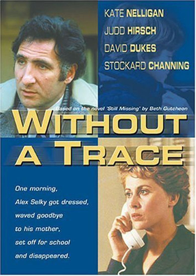 Without a Trace (film) movie poster