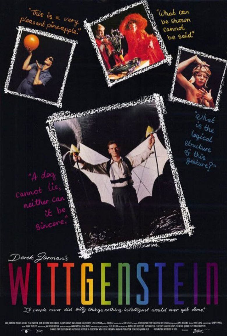 Wittgenstein (film) movie poster