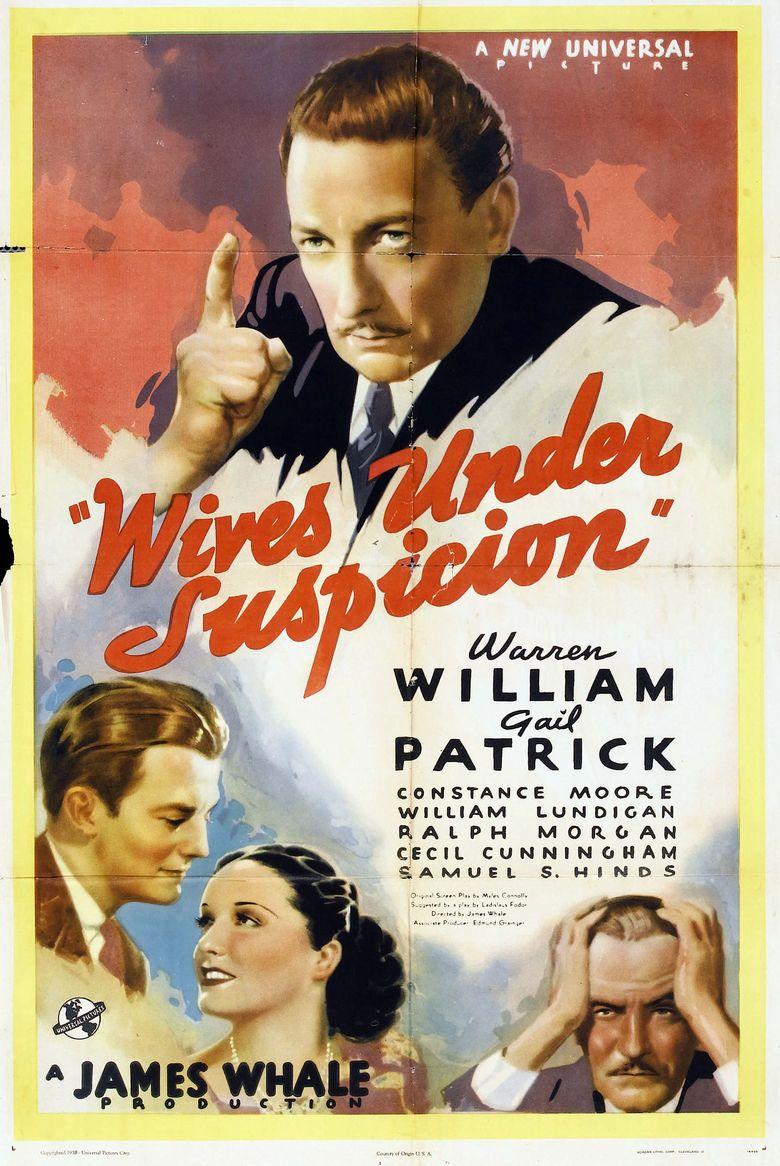 Wives Under Suspicion movie poster