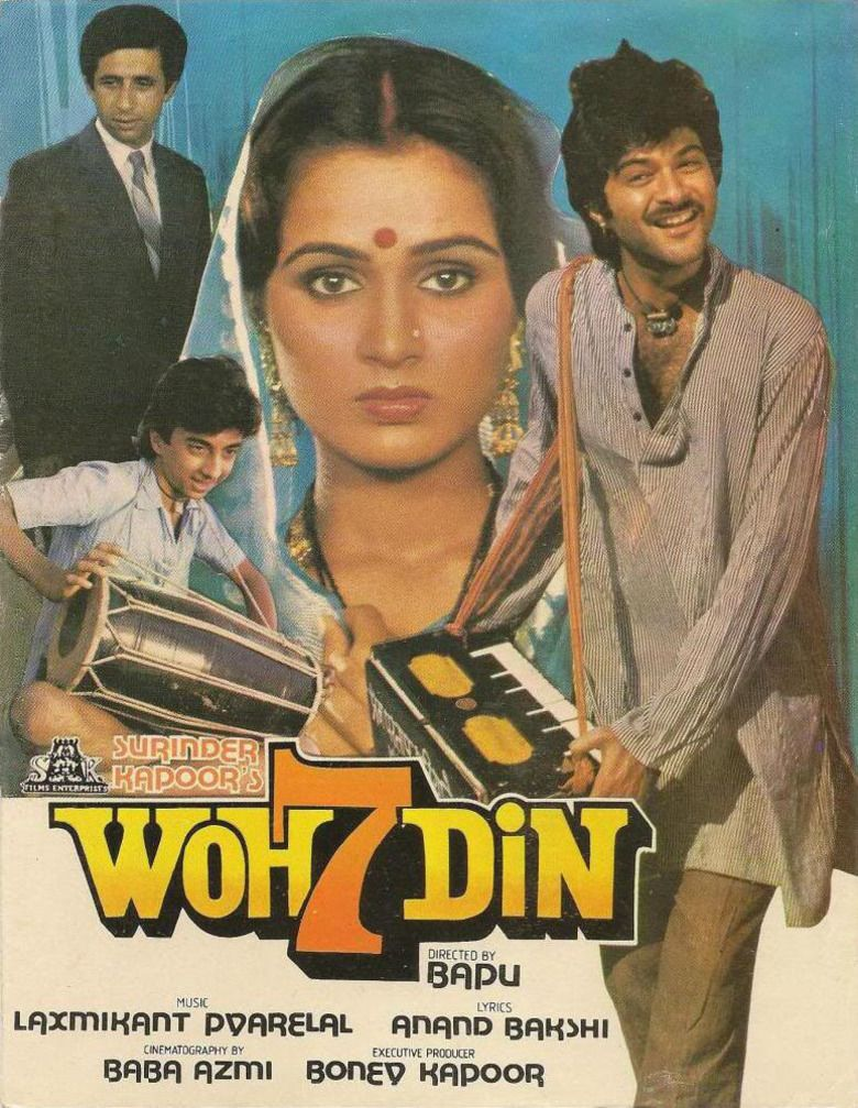 Woh Saat Din movie poster