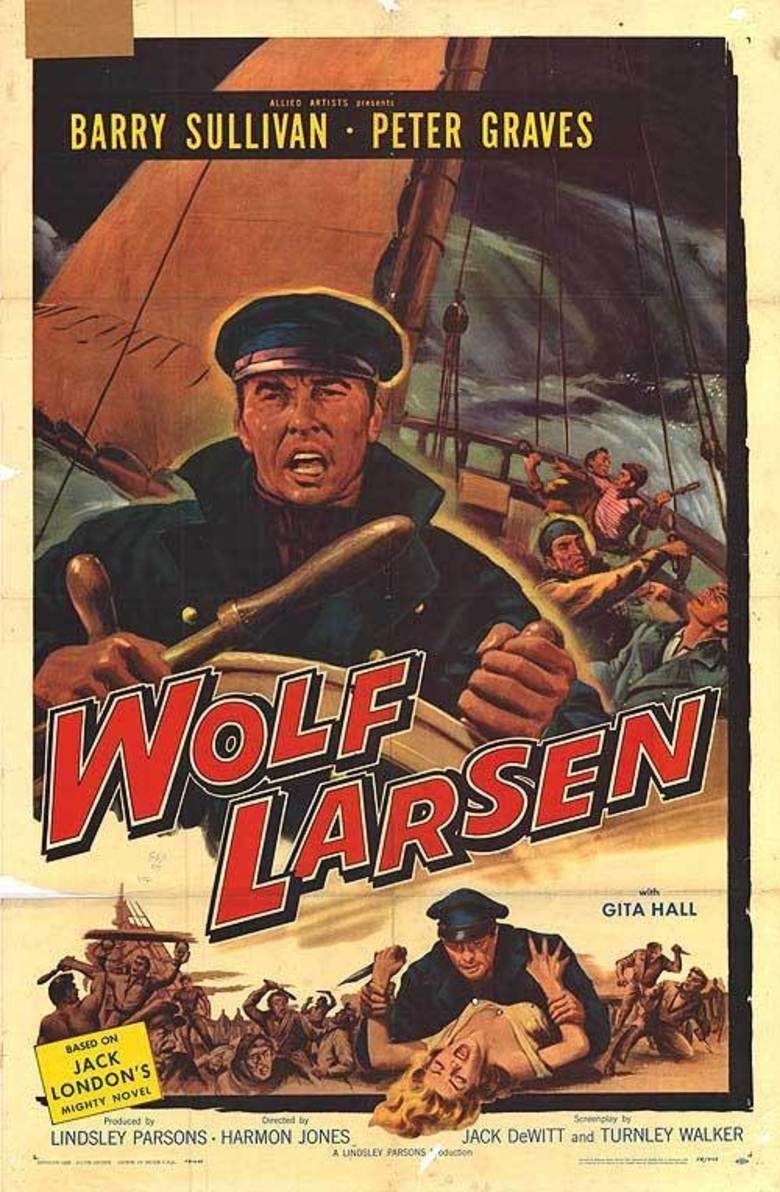 Wolf Larsen (film) movie poster
