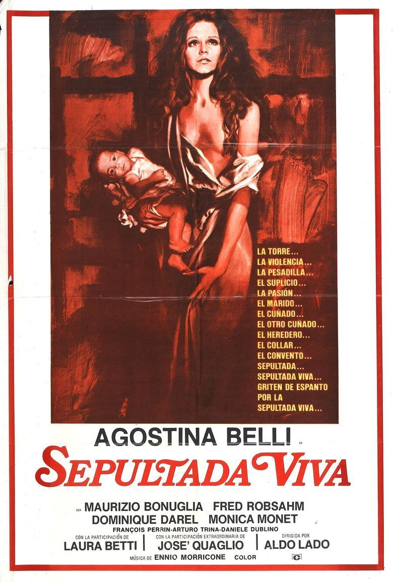 Woman Buried Alive movie poster