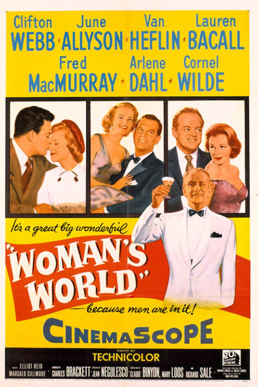 Womans World (film) movie poster