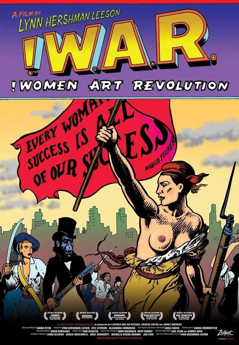 !Women Art Revolution movie poster
