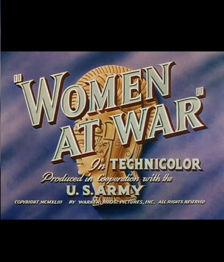 Women at War movie poster