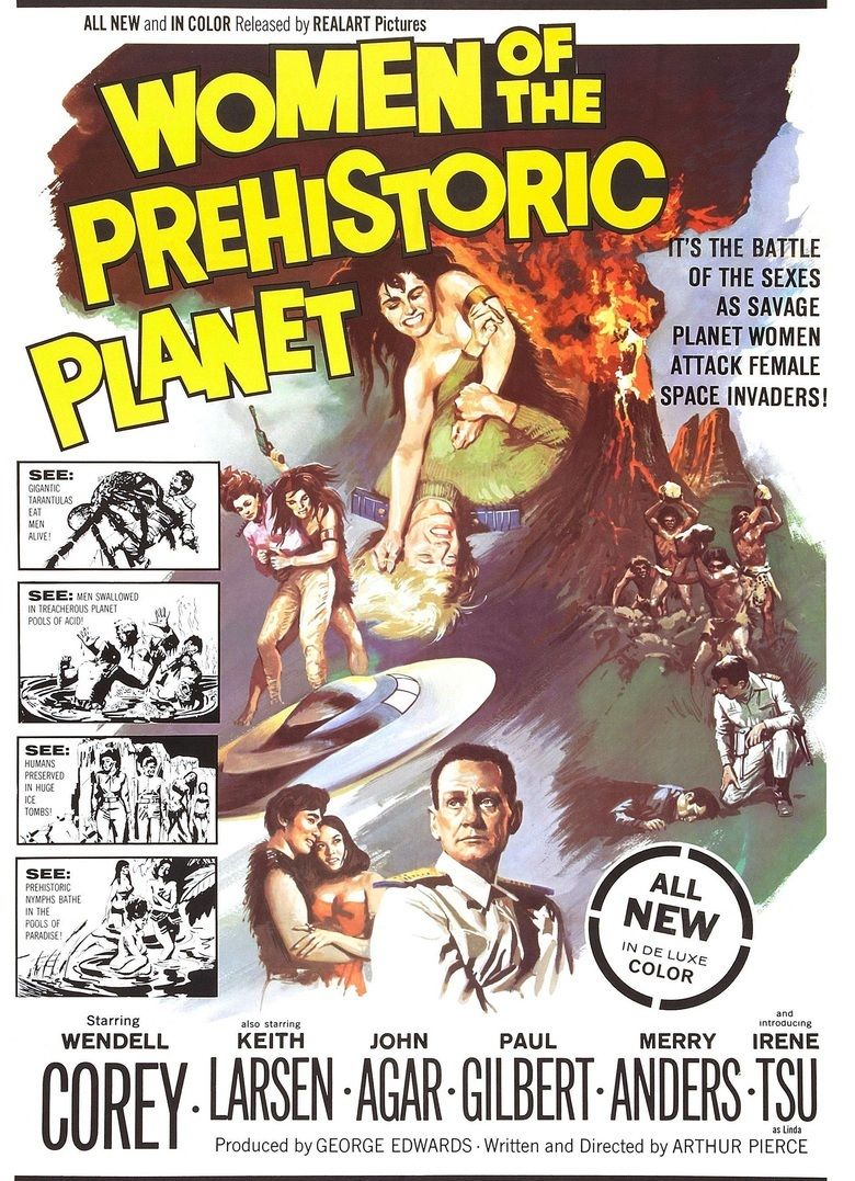 Women of the Prehistoric Planet movie poster