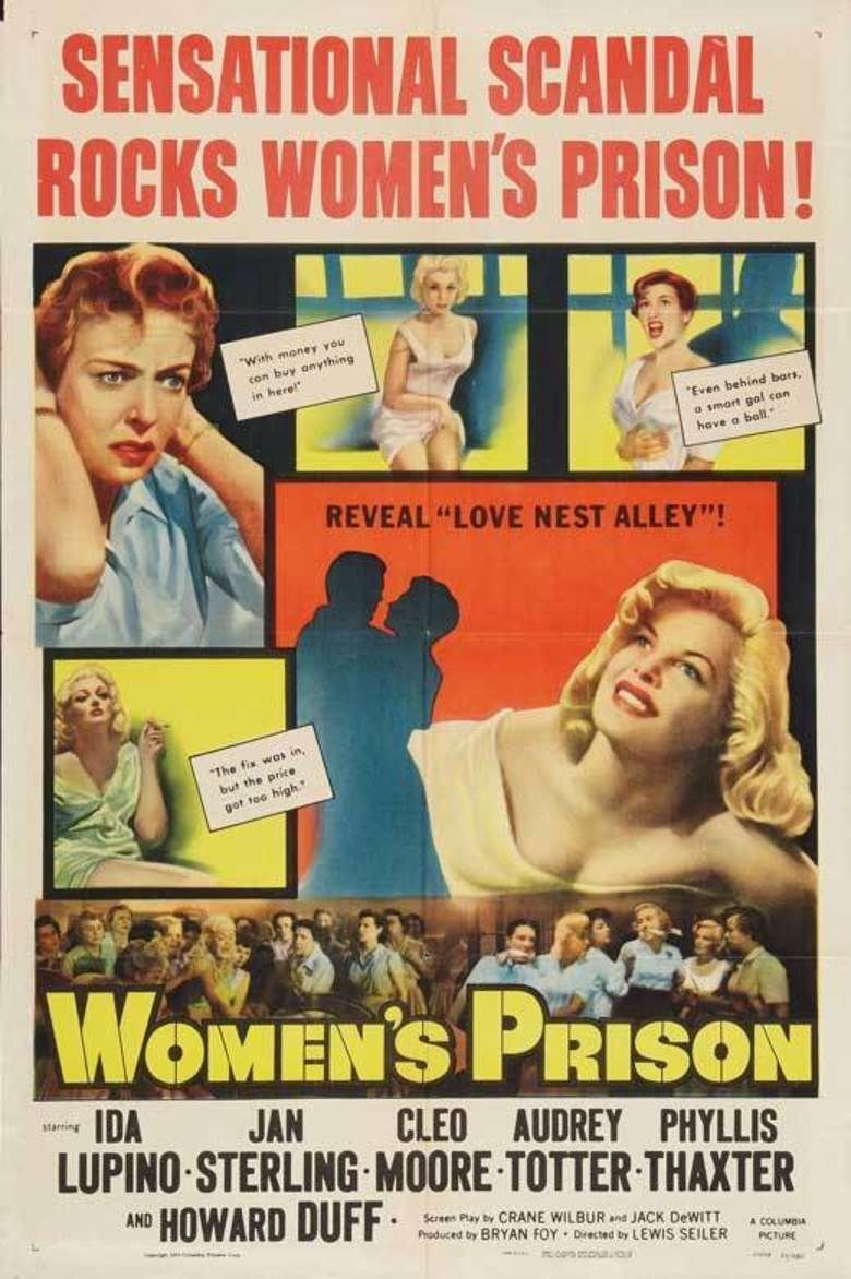 Womens Prison (1955 film) movie poster