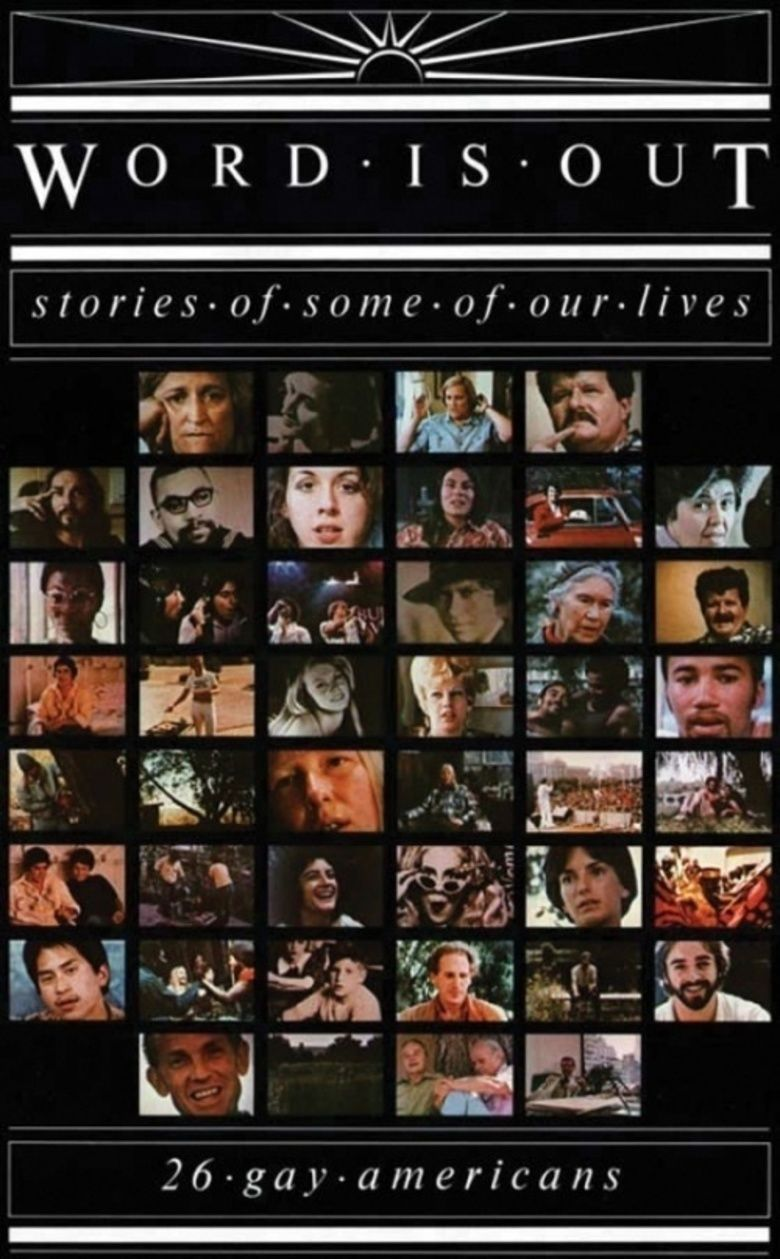 Word Is Out: Stories of Some of Our Lives movie poster