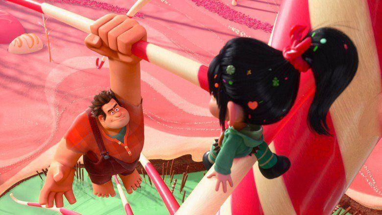 Wreck It Ralph movie scenes