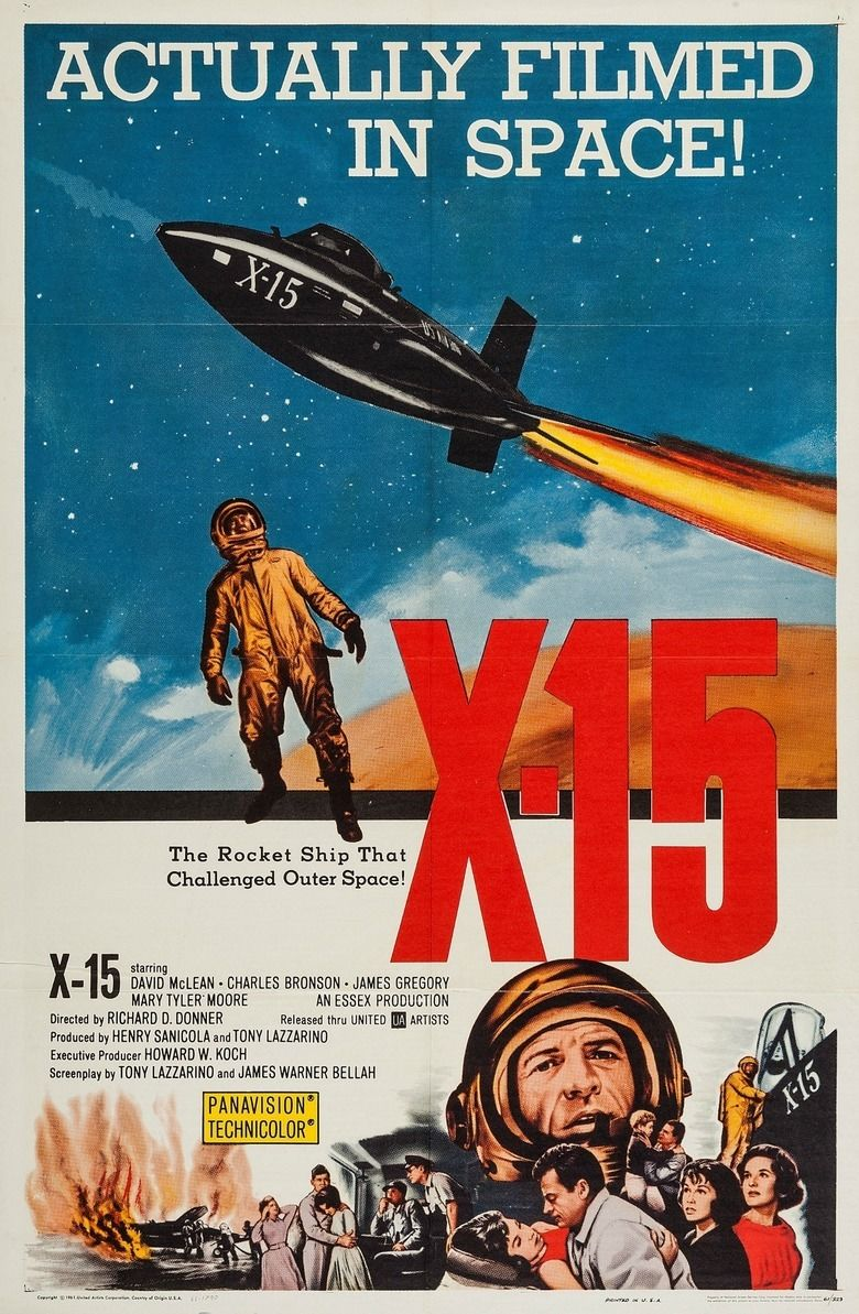 X 15 (film) movie poster