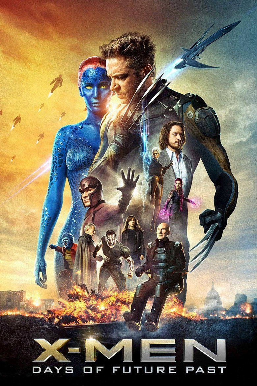 X Men: Days of Future Past movie poster