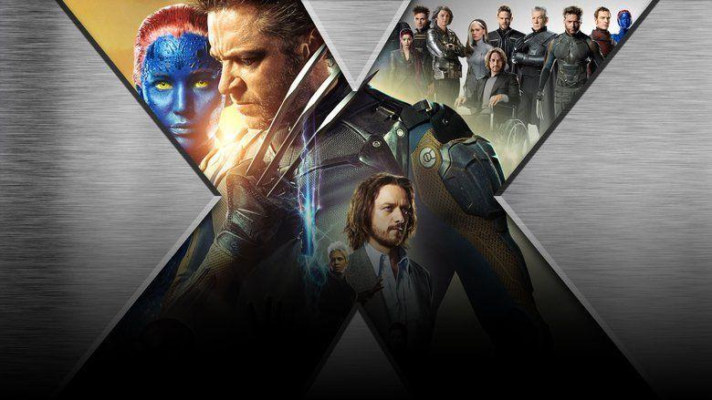 X Men: Days of Future Past movie scenes