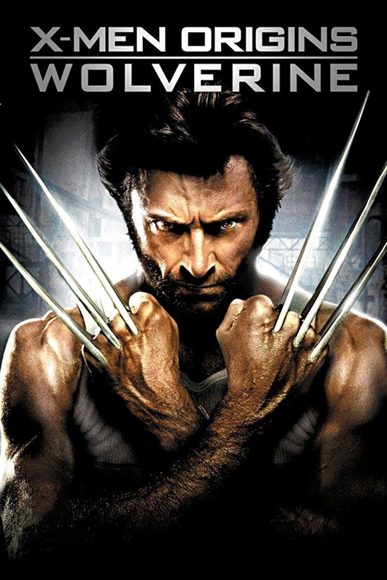 X Men Origins: Wolverine movie poster