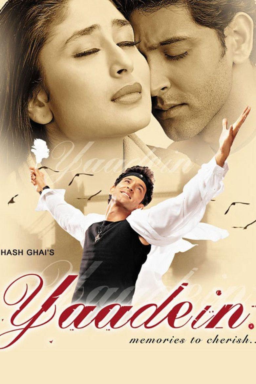 Yaadein (2001 film) movie poster