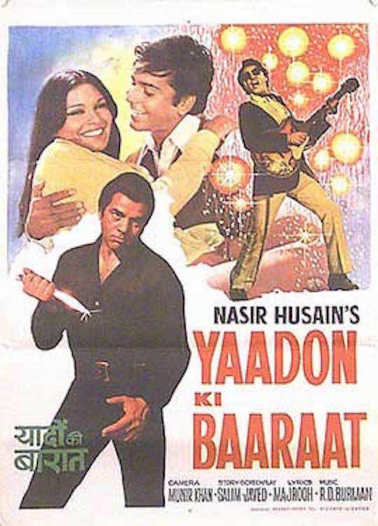 Yaadon Ki Baaraat movie poster