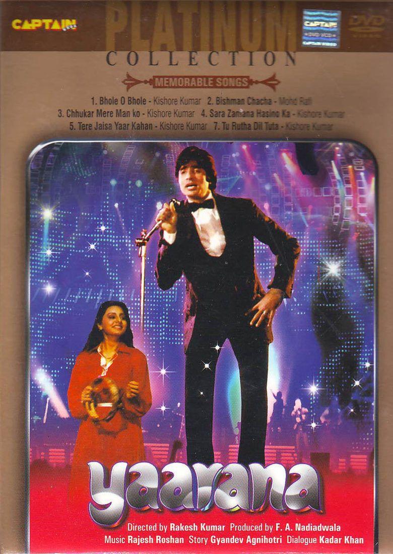 Yaarana (1981 film) movie poster