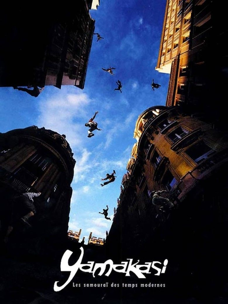 Yamakasi (film) movie poster