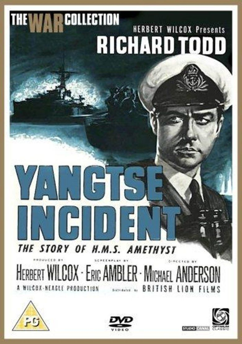 Yangtse Incident: The Story of HMS Amethyst movie poster