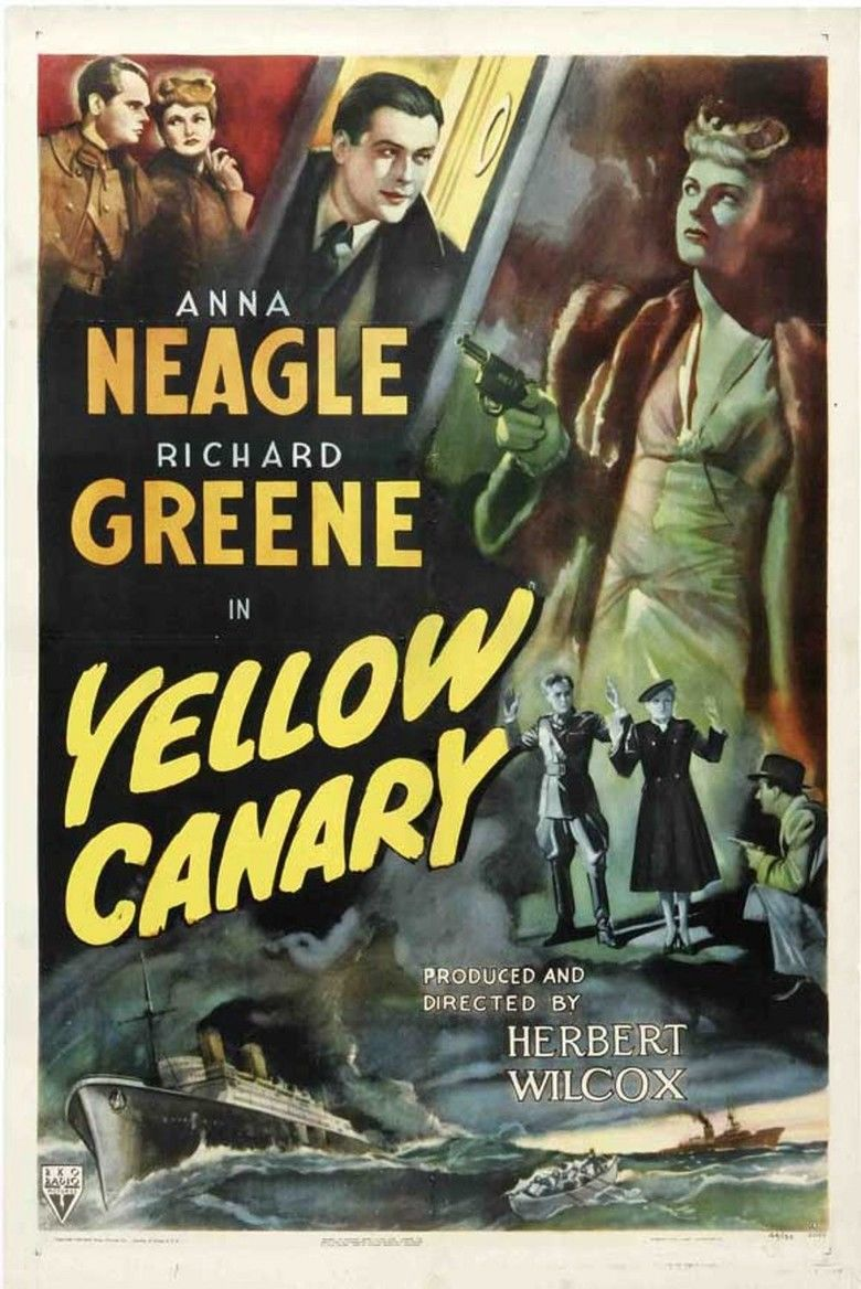 Yellow Canary (film) movie poster