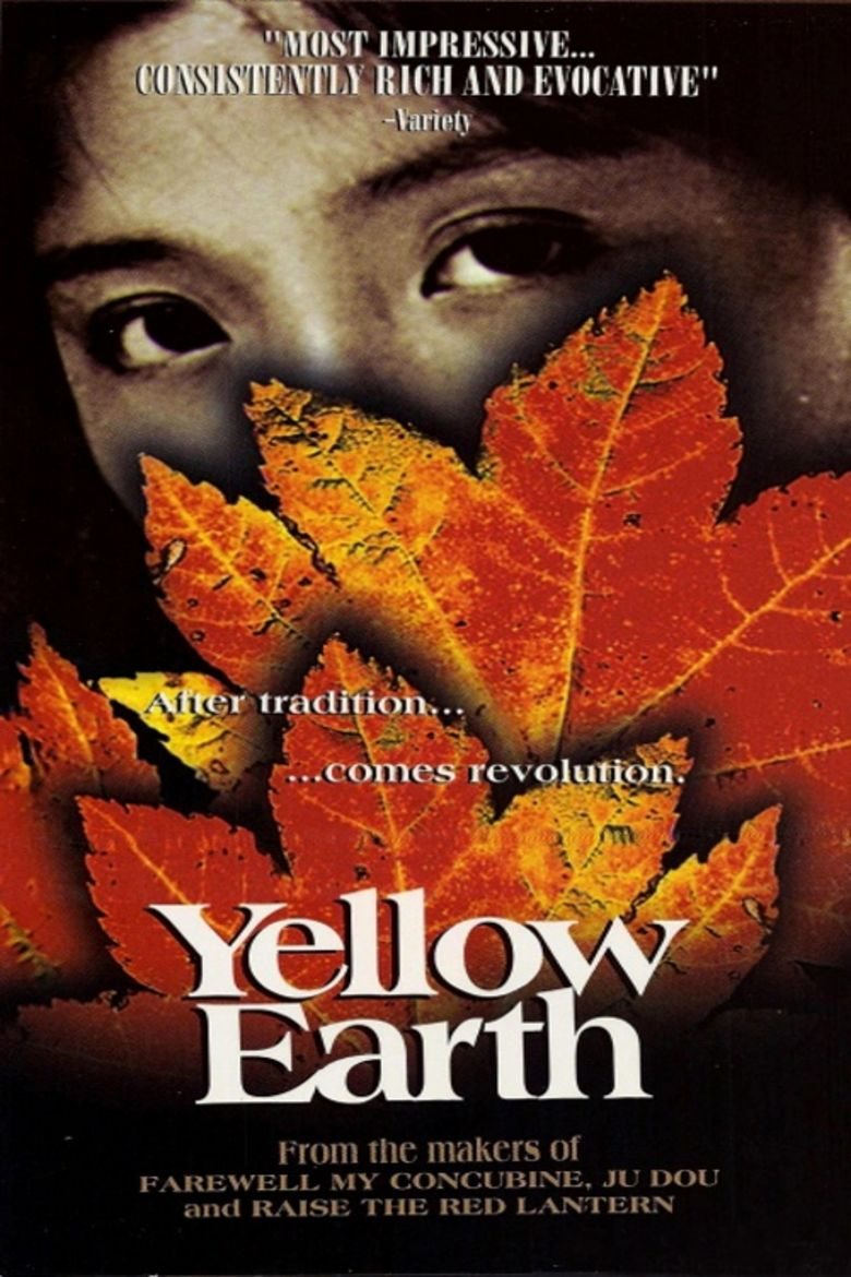 Yellow Earth movie poster