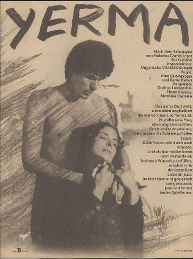 Yerma (film) movie poster