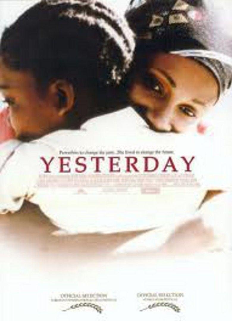 Yesterday (2004 film) movie poster