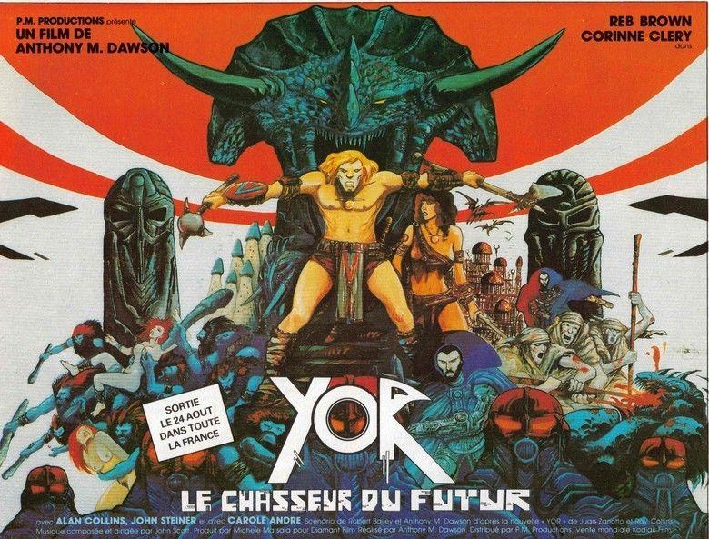Yor, the Hunter from the Future movie scenes
