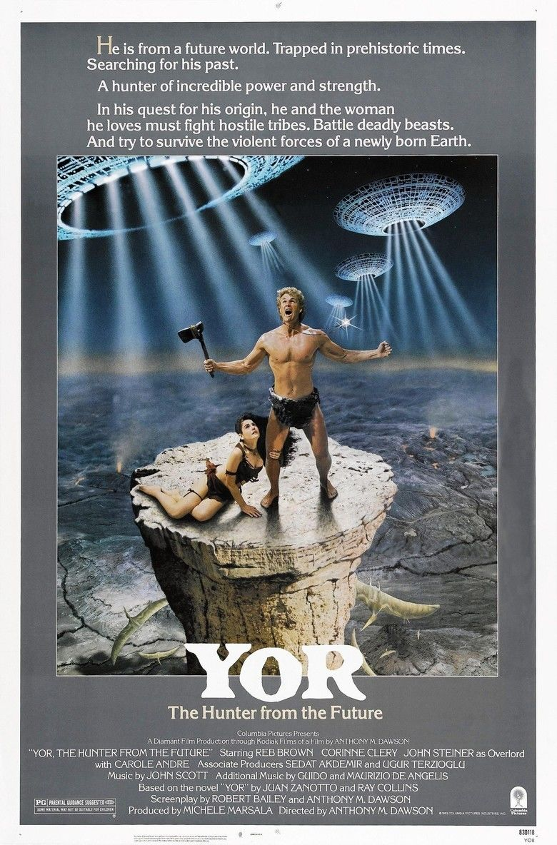 Yor, the Hunter from the Future movie poster