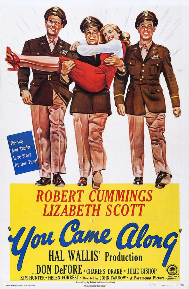 You Came Along movie poster