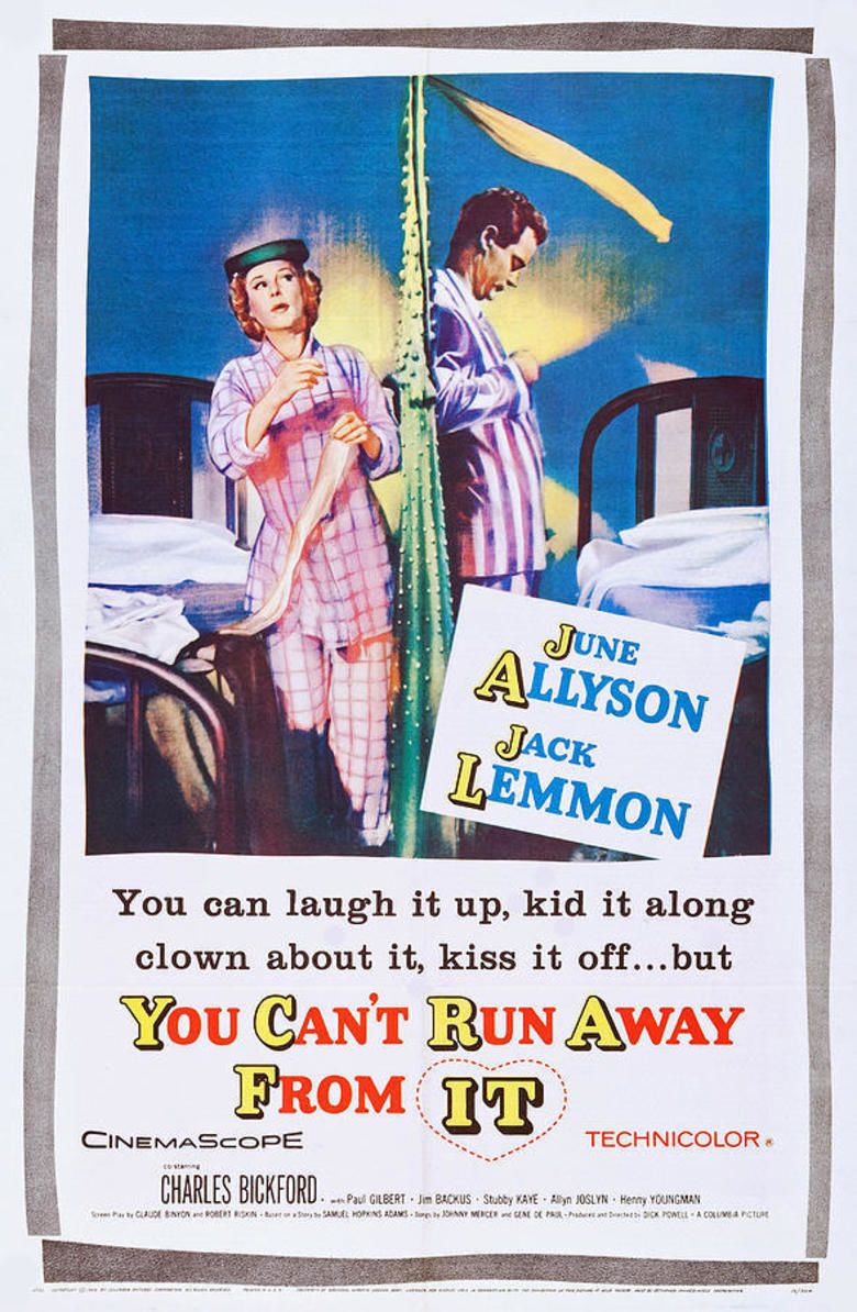 You Cant Run Away from It movie poster
