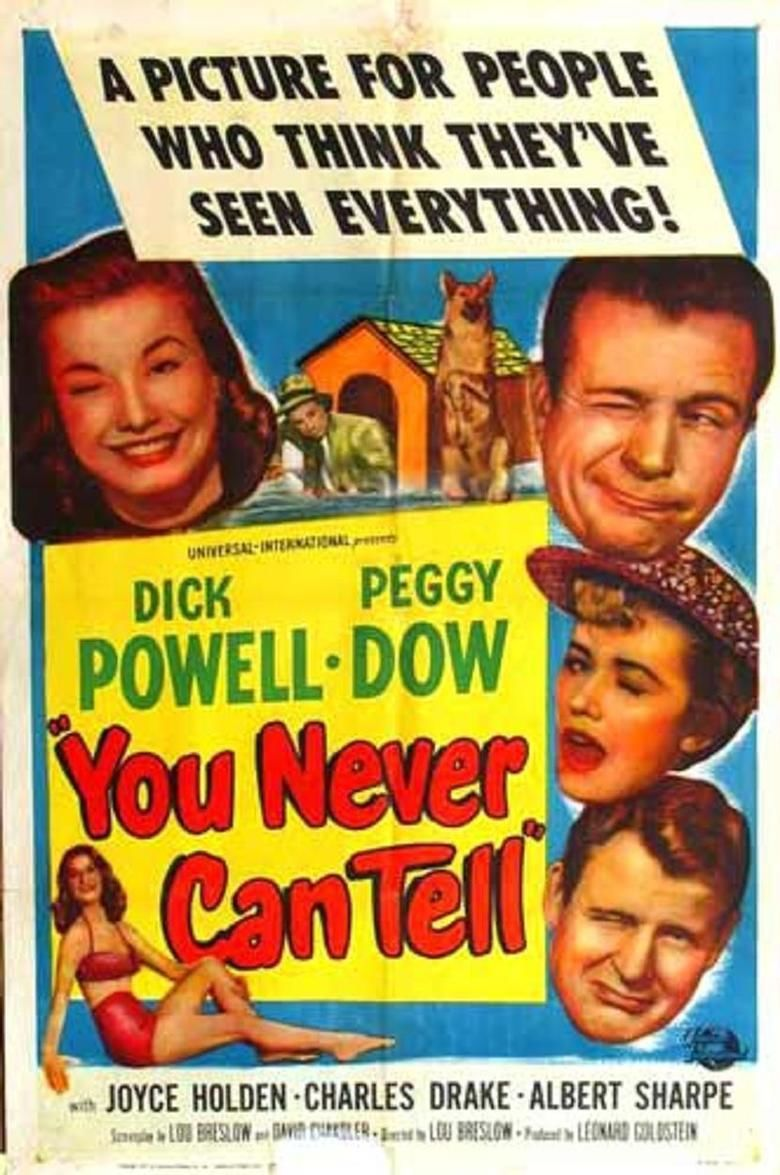 You Never Can Tell (1951 film) movie poster