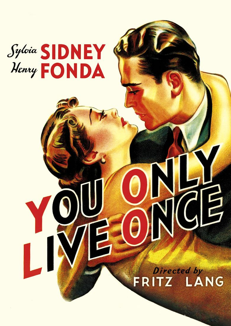 You Only Live Once (film) movie poster