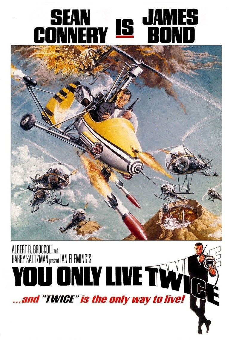 You Only Live Twice (film) movie poster