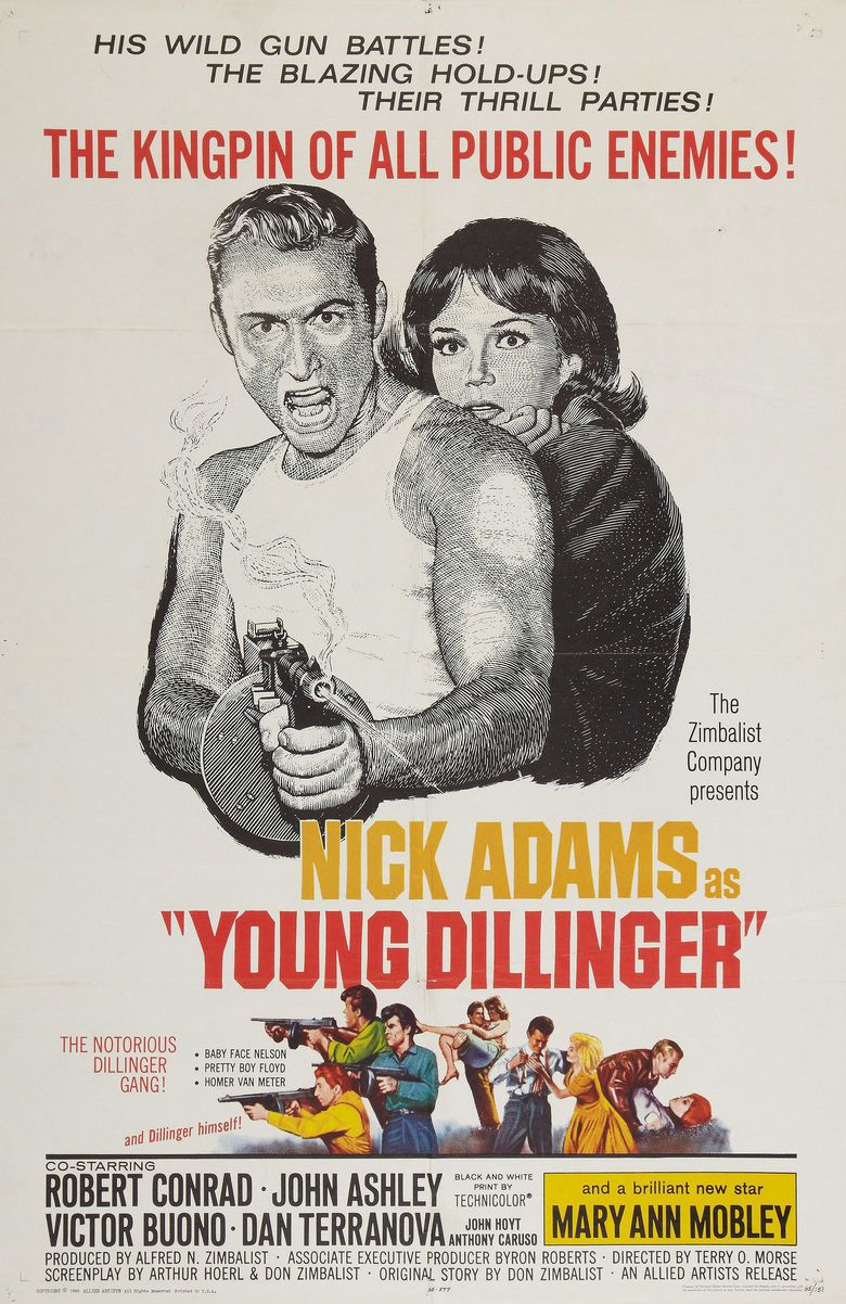 Young Dillinger movie poster
