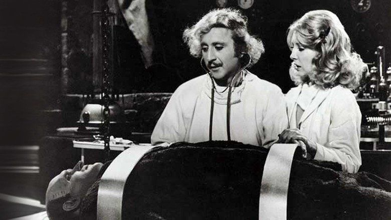 Young Frankenstein movie scenes