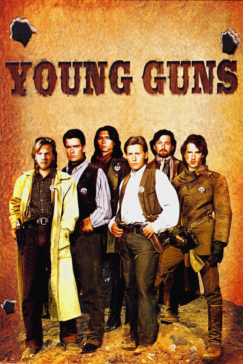Young Guns (film) movie poster